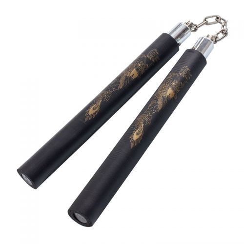 Nunchaku kickboxing weapon